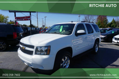 2011 Chevrolet Tahoe for sale at Ritchie Auto in Appleton WI
