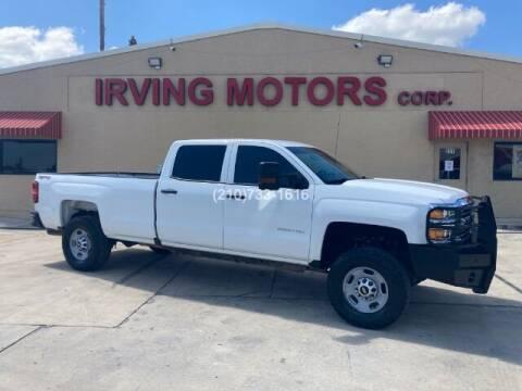 2018 Chevrolet Silverado 2500HD for sale at Irving Motors Corp in San Antonio TX
