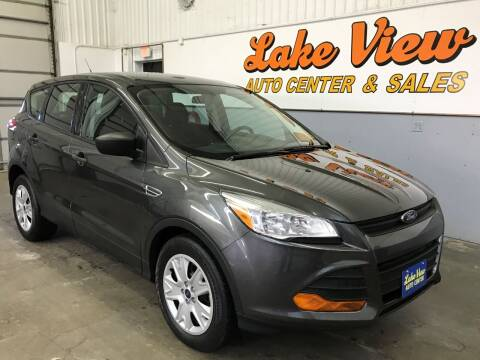 2016 Ford Escape for sale at Lake View Auto Center and Sales in Oshkosh WI