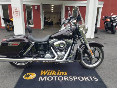 2014 Harley-Davidson SwitchBack Dyna for sale at WILKINS MOTORSPORTS in Brewster NY