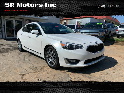 2015 Kia Cadenza for sale at SR Motors Inc in Gainesville GA