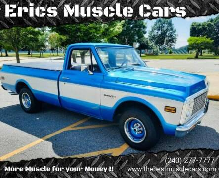 1972 Chevrolet C/K 10 Series for sale at Erics Muscle Cars in Clarksburg MD