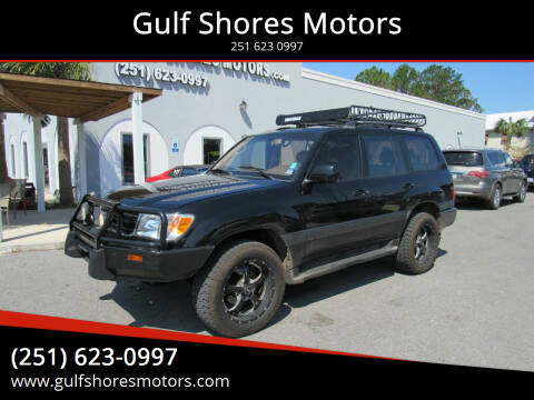1999 Toyota Land Cruiser for sale at Gulf Shores Motors in Gulf Shores AL