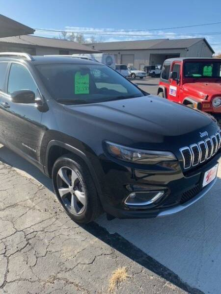2020 Jeep Cherokee for sale at Four Guys Auto in Cedar Rapids IA