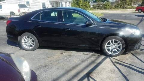 2013 Chevrolet Malibu for sale at HEDGES USED CARS in Carleton MI