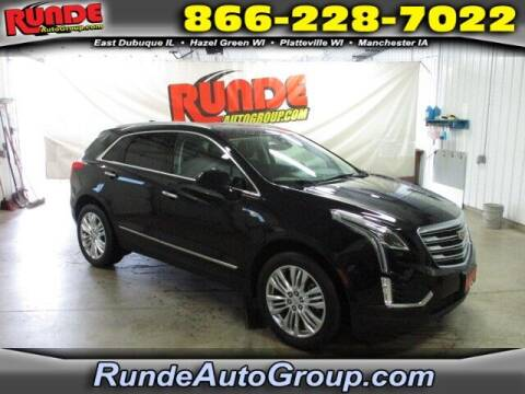 2017 Cadillac XT5 for sale at Runde PreDriven in Hazel Green WI