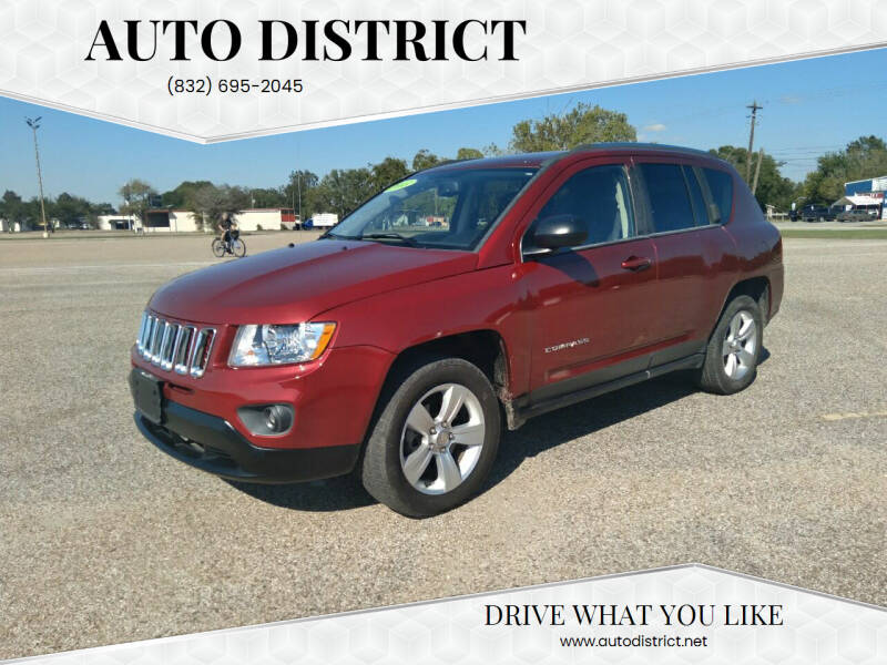 2013 Jeep Compass for sale at Auto District in Baytown TX