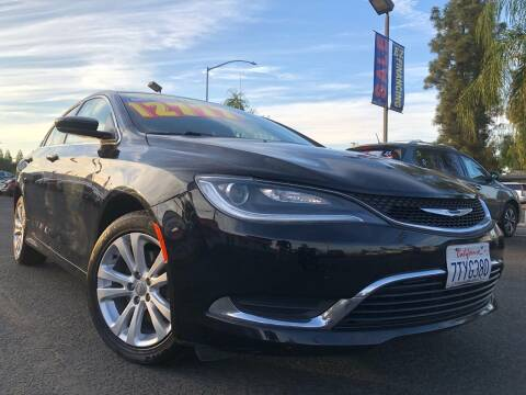 2016 Chrysler 200 for sale at River Park Automotive Center in Fresno CA