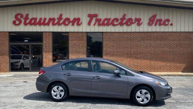 2014 Honda Civic for sale at STAUNTON TRACTOR INC in Staunton VA