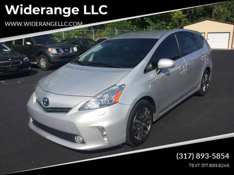 2012 Toyota Prius v for sale at Widerange LLC in Greenwood IN