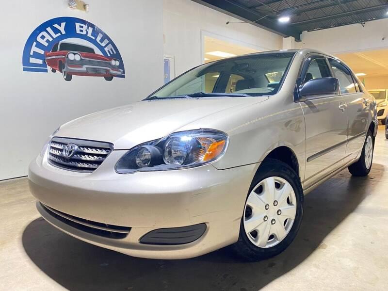 2007 Toyota Corolla for sale at Italy Blue Auto Sales llc in Miami FL
