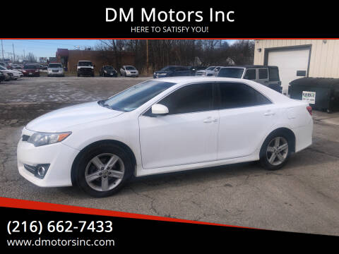 2014 Toyota Camry for sale at DM Motors Inc in Maple Heights OH