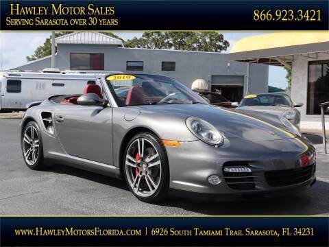 2010 Porsche 911 for sale at Hawley Motor Sales in Sarasota FL