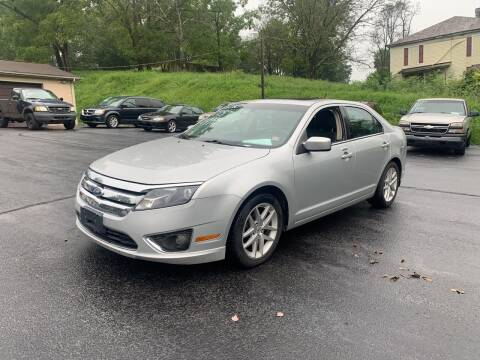 2010 Ford Fusion for sale at KP'S Cars in Staunton VA
