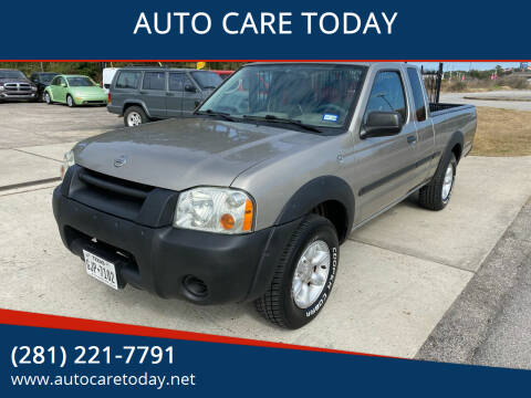 2002 Nissan Frontier for sale at AUTO CARE TODAY in Spring TX