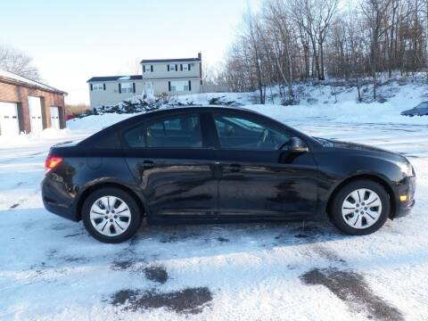 2013 Chevrolet Cruze for sale at Wolcott Auto Exchange in Wolcott CT