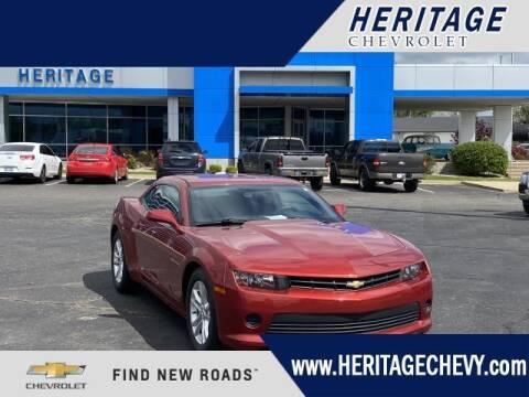 2014 Chevrolet Camaro for sale at HERITAGE CHEVROLET INC in Creek MI