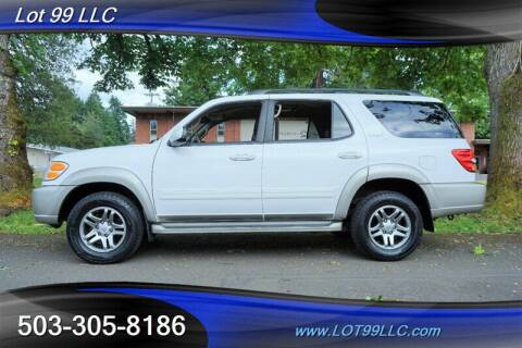 2004 Toyota Sequoia for sale at LOT 99 LLC in Milwaukie OR