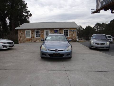 2007 Honda Accord for sale at Flywheel Auto Sales Inc in Woodstock GA