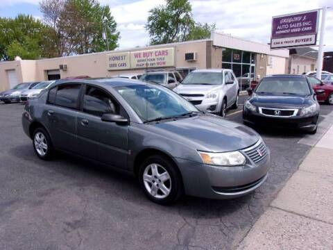 2006 Saturn Ion for sale at Gregory J Auto Sales in Roseville MI