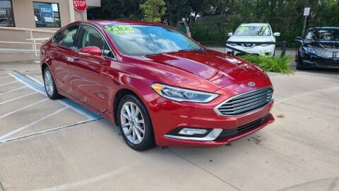 2017 Ford Fusion Energi for sale at Dunn-Rite Auto Group in Longwood FL