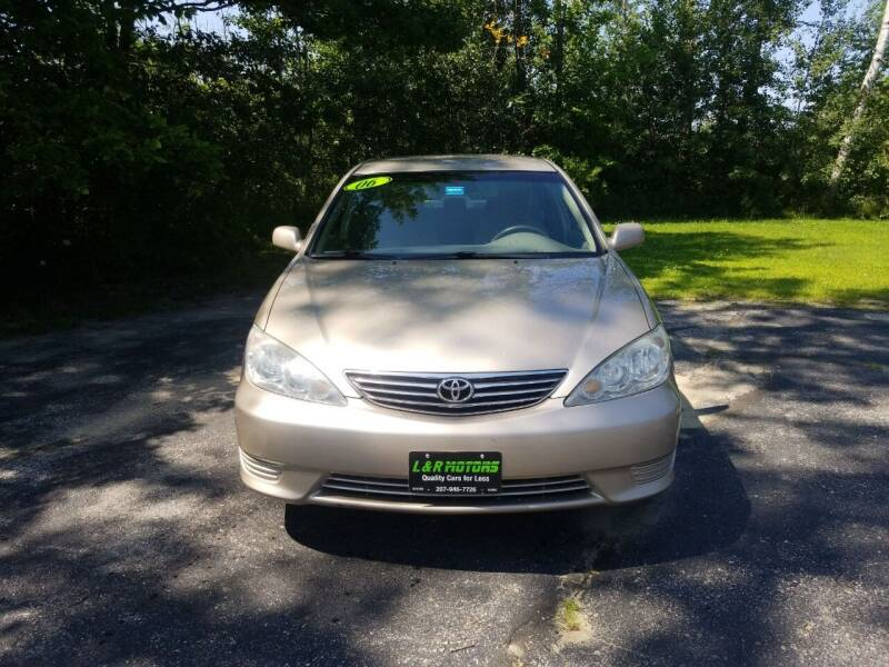 2006 Toyota Camry for sale at L & R Motors in Greene ME