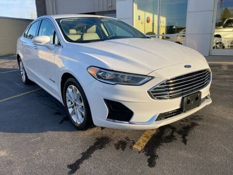 2019 Ford Fusion Hybrid for sale at RABIDEAU'S AUTO MART in Green Bay WI