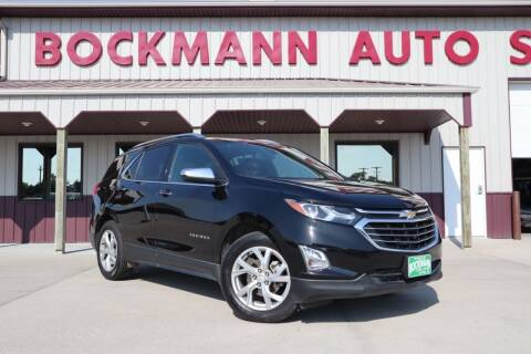 2018 Chevrolet Equinox for sale at Bockmann Auto Sales in St. Paul NE