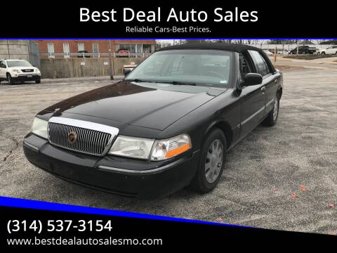 2005 Mercury Grand Marquis for sale at Best Deal Auto Sales in Saint Charles MO
