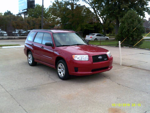 2007 Subaru Forester for sale at Fred Elias Auto Sales in Center Line MI