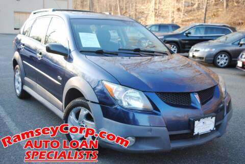 2004 Pontiac Vibe for sale at Ramsey Corp. in West Milford NJ
