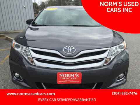 2015 Toyota Venza for sale at NORM'S USED CARS INC in Wiscasset ME