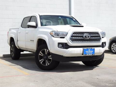 2016 Toyota Tacoma for sale at Joe Myers Toyota PreOwned in Houston TX