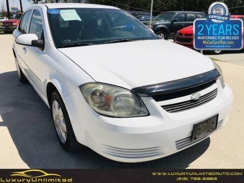 2009 Chevrolet Cobalt for sale at LUXURY UNLIMITED AUTO SALES in San Antonio TX