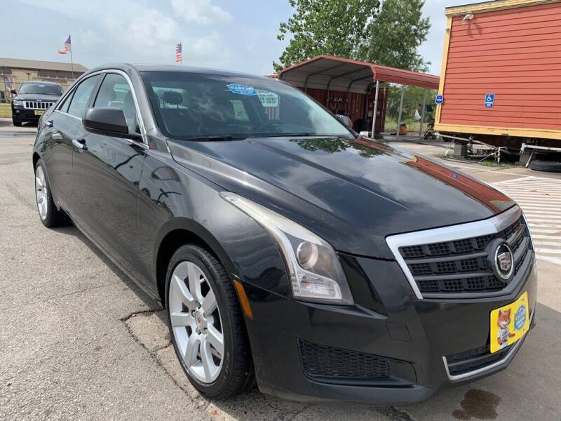 2014 Cadillac ATS for sale at JAVY AUTO SALES in Houston TX