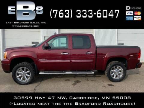 2013 GMC Sierra 1500 for sale at East Bradford Sales, Inc in Cambridge MN