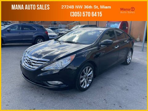 2011 Hyundai Sonata for sale at MANA AUTO SALES in Miami FL