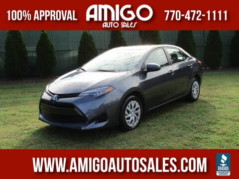 2017 Toyota Corolla for sale at Amigo Auto Sales in Marietta GA