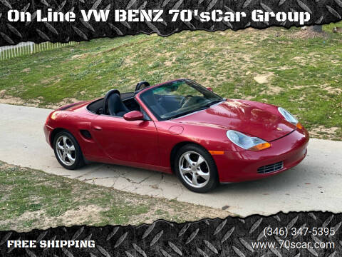 2002 Porsche Boxster for sale at On Line VW BENZ 70's Group in Warehouse CA
