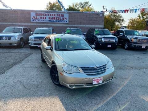 2007 Chrysler Sebring for sale at Brothers Auto Group in Youngstown OH