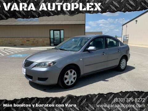 2006 Mazda MAZDA3 for sale at VARA AUTOPLEX in Seguin TX