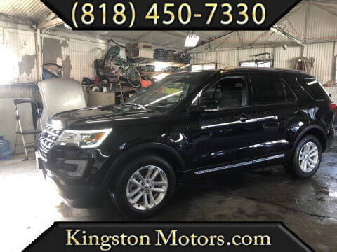 2017 Ford Explorer for sale at Kingston Motors in North Hollywood CA