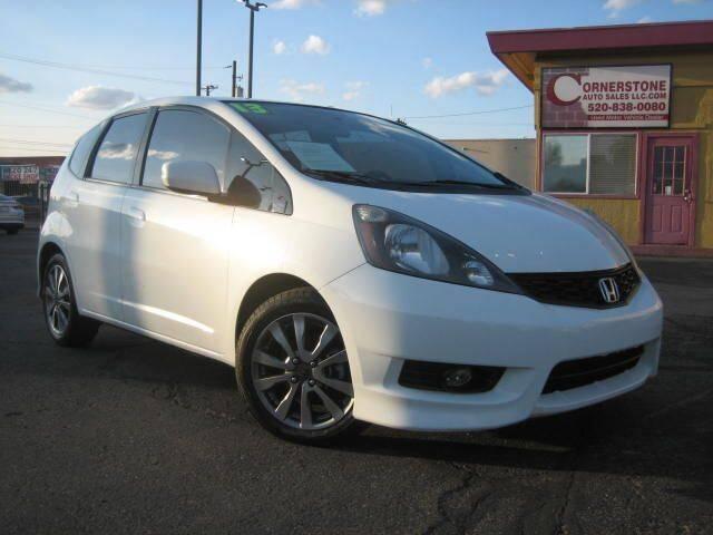 2013 Honda Fit for sale at Cornerstone Auto Sales in Tucson AZ
