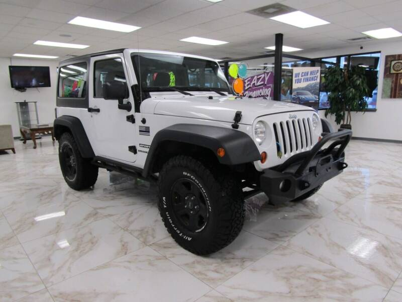 2013 Jeep Wrangler for sale at Dealer One Auto Credit in Oklahoma City OK