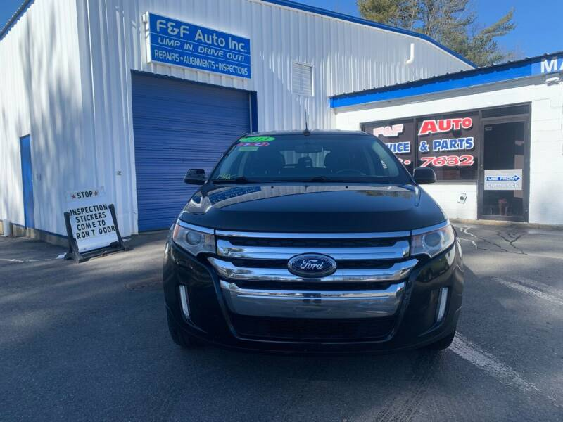 2013 Ford Edge for sale at F&F Auto Inc. in West Bridgewater MA