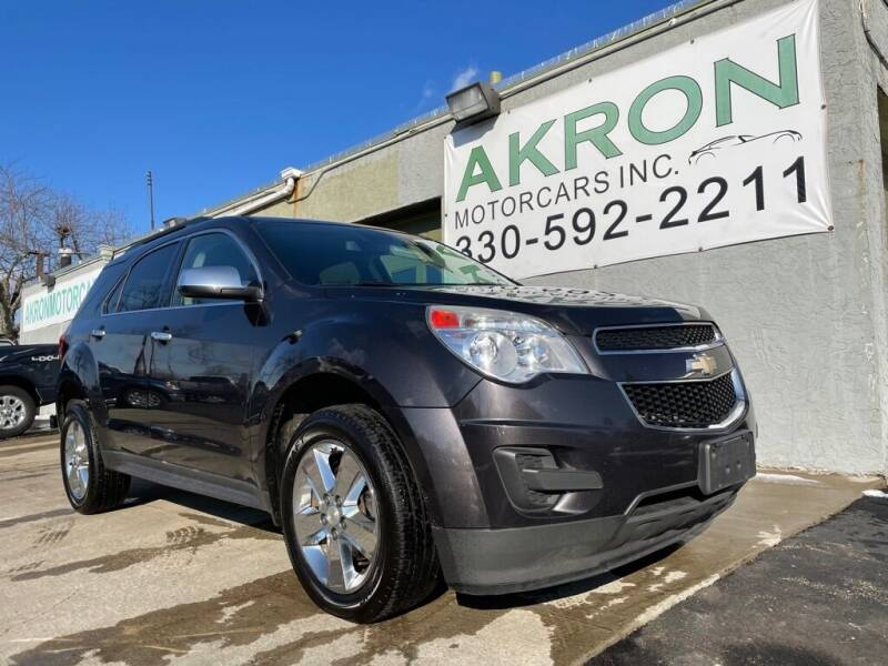 2014 Chevrolet Equinox for sale at Akron Motorcars Inc. in Akron OH