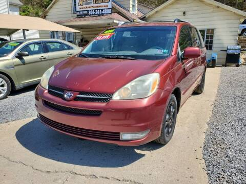 2005 Toyota Sienna for sale at Auto Town Used Cars in Morgantown WV