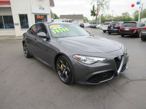 2018 Alfa Romeo Giulia for sale at Auto Land Inc in Crest Hill IL