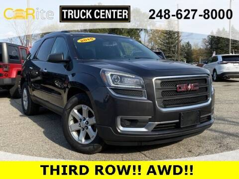 2015 GMC Acadia for sale at Carite Truck Center in Ortonville MI