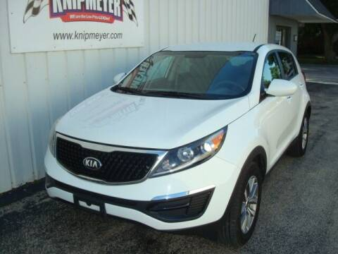 2015 Kia Sportage for sale at Team Knipmeyer in Beardstown IL